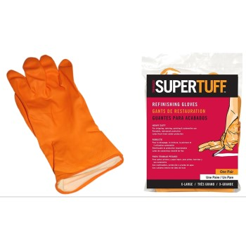 Xl Orange Refinish Glove