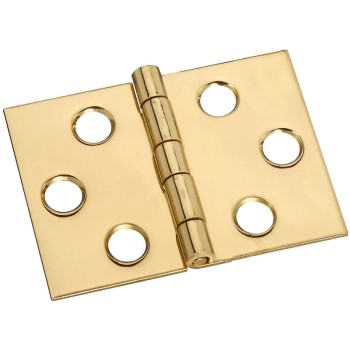 Solid Brass/Pb Hinge, Visual Pack 1818 3/4 x 1 - 13/16 inches