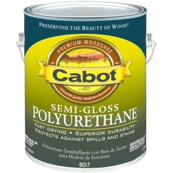 Semi-Gloss Polyurethane - 1 Gallon