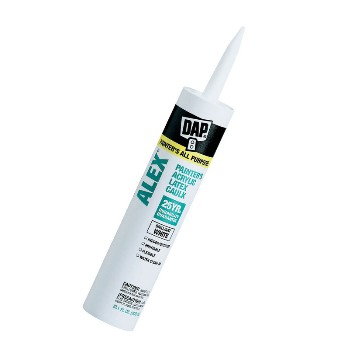 DAP 18670 Acrylic Painters Latex Caulk, Alex White ~ 11 oz Tubes