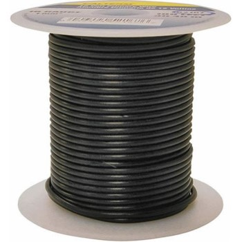 Primary Wire, Black ~ 100 Ft Roll 12 Gauge