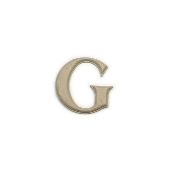 House Letter G,  Simulated Wood-Grain Letter ~ 7""
