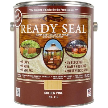 Ready Seal Wood Stain and Sealant, Pine ~ Gallon