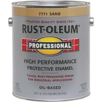 Rust-Oleum 7771402 Protective Enamel Paint, Sand ~  Gallon