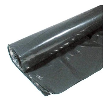 Coverall Plastic Sheeting, Black ~  20  x  25 ft x 4 Mil