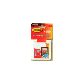 Adhesive Hooks - Small and Medium Picture Hanging Strips