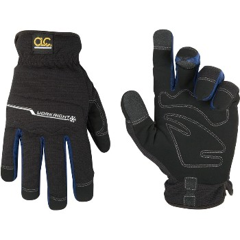 Xl Blk Workright Glove