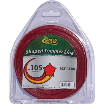 "Cmd Prods 5105l Star Shapedtrim Line ~ .105"" Diameter"