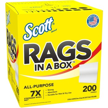 Kimberly Clark 75260 Scott Rags In A Box