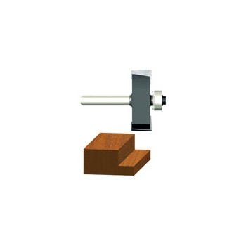 Rabbeting Router Bit - 1/2 x 1/2 inch