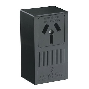 Surface Mount Range Receptacle ~ 50A-125/250V