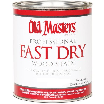 Fast Dry Wood Stain, Pecan ~ Gallon