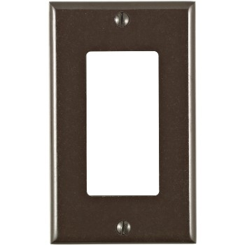 Decora Standard Wall Plate ~ Brown