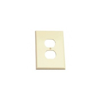 Outlet Plate-Ivory