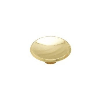 Knob - Polished Brass Finish - 2 inch