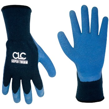 Xl Thermlined Grip Glove