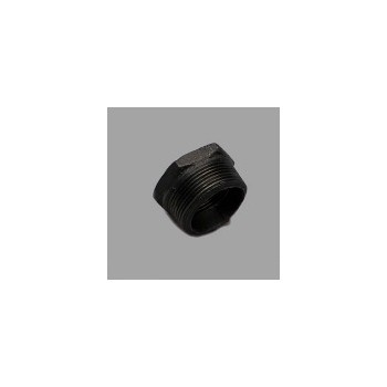 11/2x11/4 Black Bushing