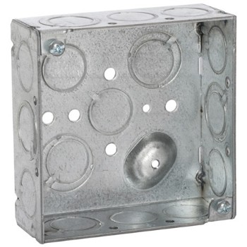 Square Box, Welded 4 inch 1.5 inch Deep