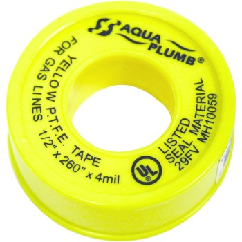 3127y 1/2x260 Ylw Thread Tape