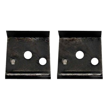 "Double Edge  1 1/2"" Wood Scraper Blades  ~  Pack of 2"