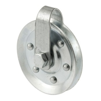 Pulley with Strap and Axle Bolt
