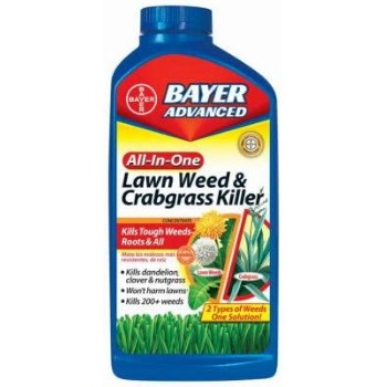 All-In-One Lawn Weed & Crabgrass Killer Concentrate ~ 32 Oz