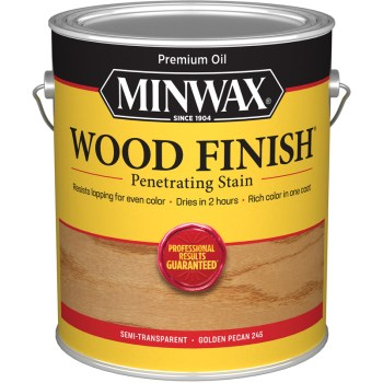 Minwax 71041 Wood Finish, Golden Pecan ~ Gallon