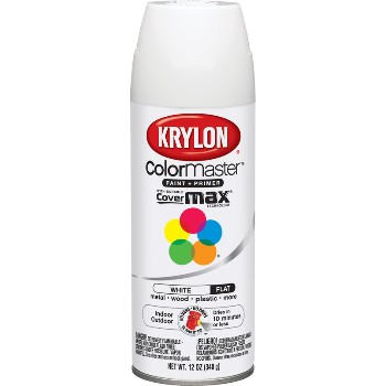 buy the krylon 51502 spray enamel flat white hardware. Black Bedroom Furniture Sets. Home Design Ideas