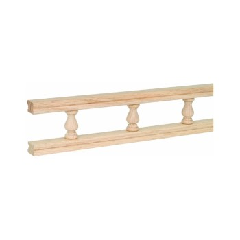 Galley Rail, Oak ~ 48""