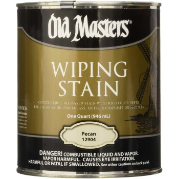 Oil-Based Wiping Stain,  Pecan  ~  Quart