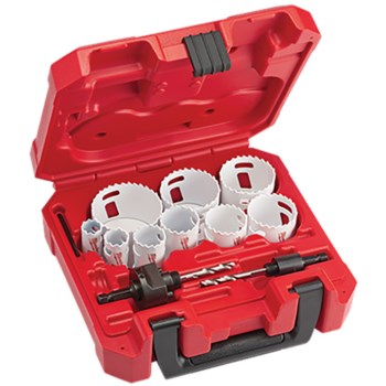 13pc Hole Saw Kit