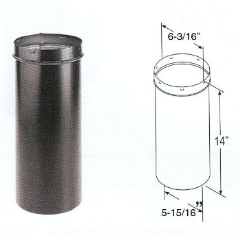 "Slip Connector, 24 Gauge ~ 6"" x 14"""
