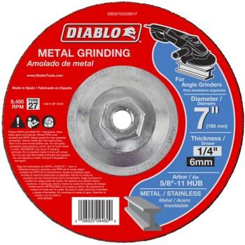 """Freud/Diablo DBD070250B01F Diablo Metal Grinding Disc ~ 7"""""""