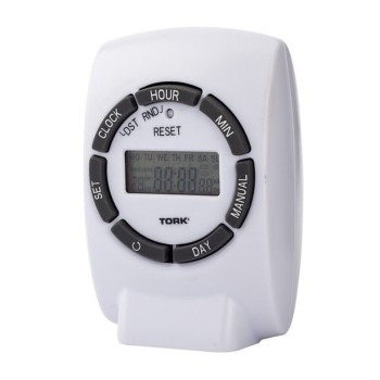 "Digital Programmable Timer, 7 Day  ~ 2.5"" x 3.5"" x 2"""