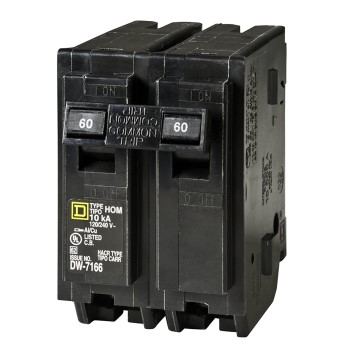Homeline Double-Pole Breaker ~ 60 Amp