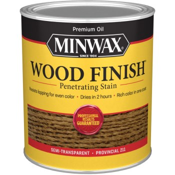 Wood Finish ~ Provincial,  Quart