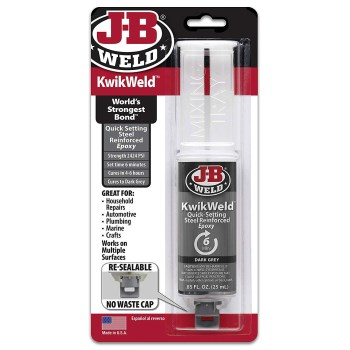 J-B Weld 50176 KwikWeld Epoxy  Syringe  ~ .25 ML