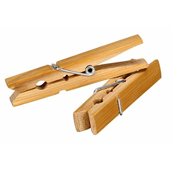 Clothespins, Wood 48 Pack