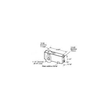 PrimeLine/SlideCo D1541 1 1/4 Glsdr Rollr Assy