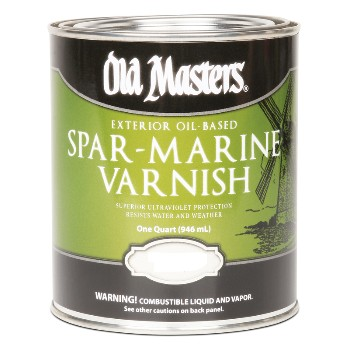 Spar Marine Varnish, Clear Satin ~ Quart