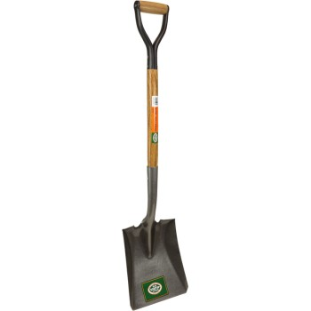 D-Handle Square Point Shovel