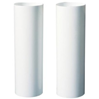 Socket Cover, White ~ Medium, 1 3/16""