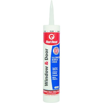 Window Caulk, Clear 10.1 oz