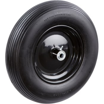 Tricam FR2215 No-Flat Wheelborrow Replacement Tire ~ 16""
