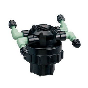 Orbit Irrigation  67005 Four-Port Adjustable Flow Manifold