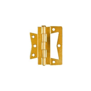 Brass N-M Hinges, Visual Pack 535 3-1 / 2 inches