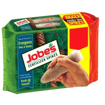Jobes 01611 Fertilizer Spikes for Evergreen Trees