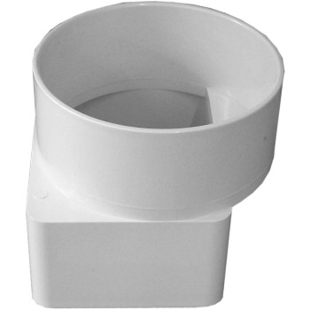 "Downspout Adapter, Offset ~ 3"" x 4"" x 4"""
