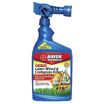 Bayer Advanced 704080A Crabgrass & Lawn Weed Killer ~ 32 oz.