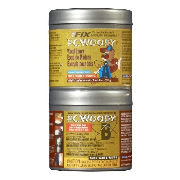 Epoxy Wood Filler, 2 part ~ 6 oz.
